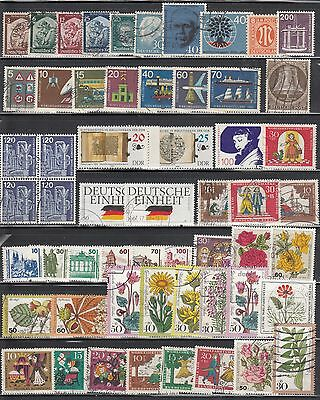 Germany Mini Country Collection Of 118 Mint & Used (Mostly Used) Clean Lot.