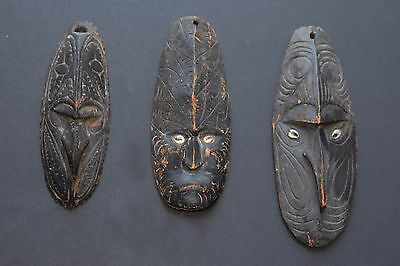 Vintage Miniature Papua New Guinea Masks in Good Condition