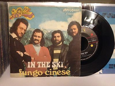 "FUNGO CINESE - IN THE SKY 45 giri 7"" Prog rock monster rare!!! obscure italy"