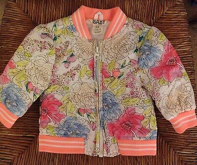 Neon Floral Baby Bomber Jacket   000   BUY 5 ITEMS = FREE POSTAGE!