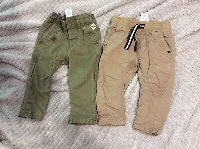 Baby Boys Next  Chino & Trouser Bundle Size 3-6 Months See Other Items