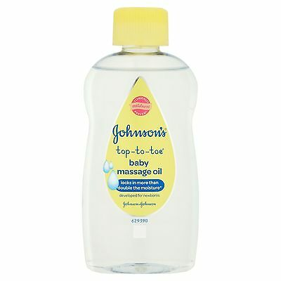 Johnsons Baby Top To Toe Message Oil 200Ml