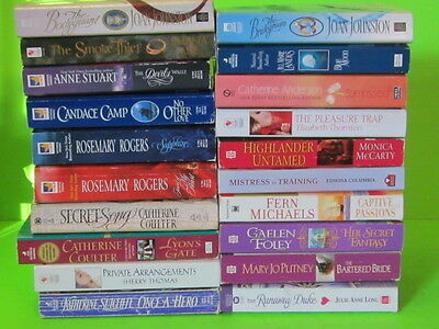 Historical Romance Book Lot of 20 Good Condition