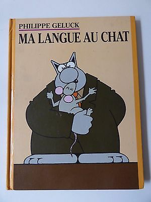 MA LANGUE au CHAT.   Philippe GELUCK