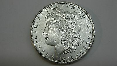 1897 Morgan Silver One Dollar --  Brilliant Uncirculated