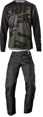 Shift Recon Drift Over The Boot Pant & Jersey Riding Gear Combo Camo