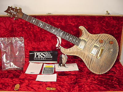 Vintage NOS '04 PRS Paul Reed Smith Modern Eagle Faded Blue Jean Rosewood Guitar