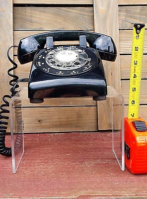 Vintage Collectible Black Bell System Rotary Dial Phone Western Electric U.s.a.