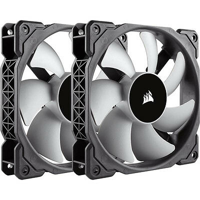 Corsair ML120 120mm Premium Magnetic Levitation Fan Twin Pack