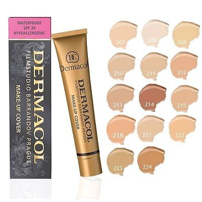 Dermacol High Covering Make Up Foundation Legendary Studio Film Hypoallergenic