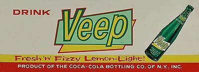 Veeps Cola Soda pop Ad High Quality Metal Magnet 2.25 x 6 inches 9344