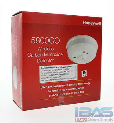 Honeywell Ademco ADT 5800CO Wireless Carbon Monoxide CO Detector Replace by 2021