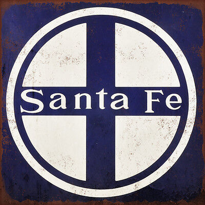 Sante Fe High Quality Metal Magnet 4 x 4 inches 9360