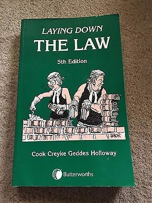 Laying Down The Law - 5th Edition