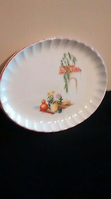 china serving platter W S George bolero pattern