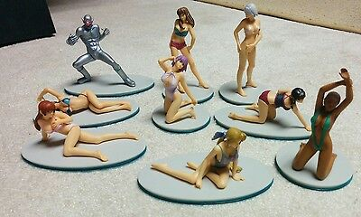 Dead Or Alive Xtreme beach volleyball trading figure set
