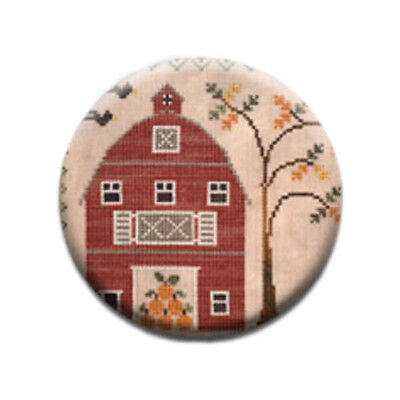 Old Red Barn Little House Needleworks Zappy Dots Needle Minder Nanny