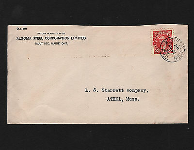 OPC 1939 North Bay & Soo RPO Algoma Steel Corp Lake Superior Corp Perfin LSC