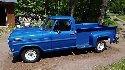 1968 Ford F-100  1968 Ford F-100 Pickup Truck in fine condition for sale by son of original owner