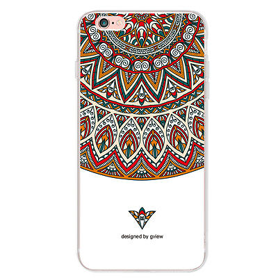 Ultra Slim Painting Soft TPU Rubber Back Protective Case Cover Skin For iPhone 7
