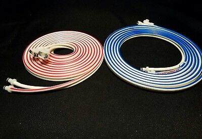 Zimmer ATS 3000 2000.10 FT Tourniquet Hoses 1 set blue and red hose