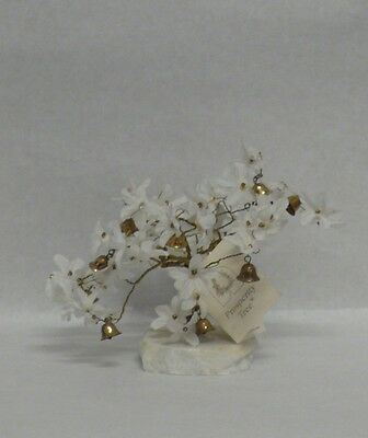 White Flower Prosperity Tree