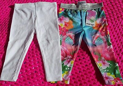Baby Girl Leggings x 2    Size 1