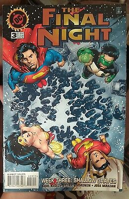 1996 Dc Comic The Final Night #3 NM