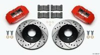 Wilwood 140-12996 Brake Kit, Black, Front