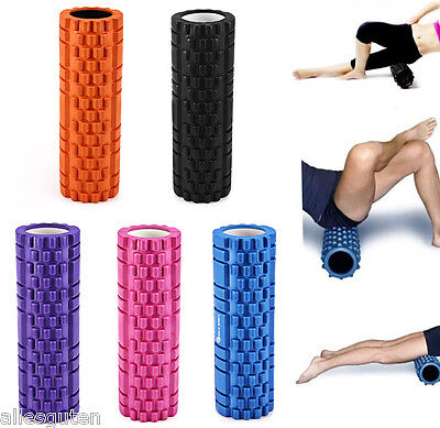 Yoga Foam Roller Fitness EVA Exercise Home Gym Pilates Physiotherapy Massage US