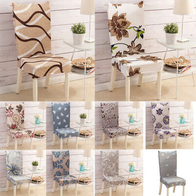 Chair Covers For Dining Room Wedding Banquet Party Decor Seat Spandex Stretch