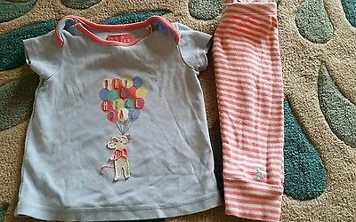 Joules baby set 3-6 months