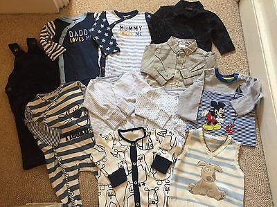 Set E.) BUNDLE OF BABY BOY CLOTHES - size  3-6 Months