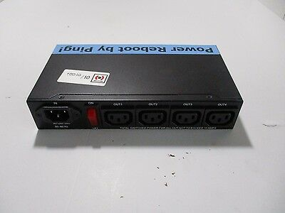 Ping Power Reboot IP Power 9258 4 Outlet Remote Network Power Web Controller