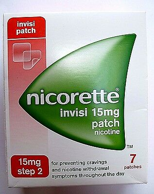 Nicorette Invisi 15mg Patch - Step 2 - 7 Patches