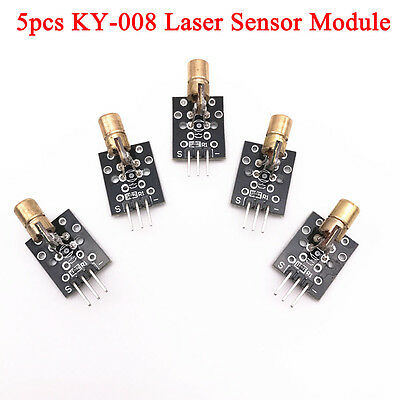 5pcs Laser Laser Head Transmitter Module Boards For Arduino Integrated Circuit