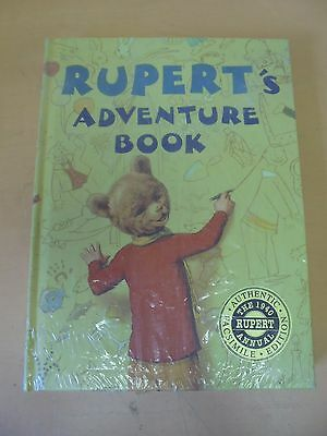 Vintage Rupert The Bear Adventure Book 1940 Annual Facsimile Edition Sealed