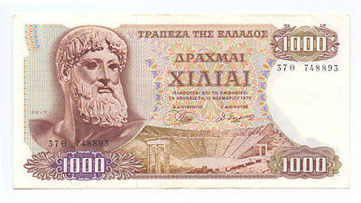 Greece 1000 Drachmas 1970, P-198