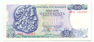 Greece 50 Drachmas 1978, P-199