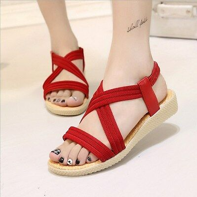 1 Pair Comfort Sandals Women Shoes Sandals Flat Sandals Gladiator