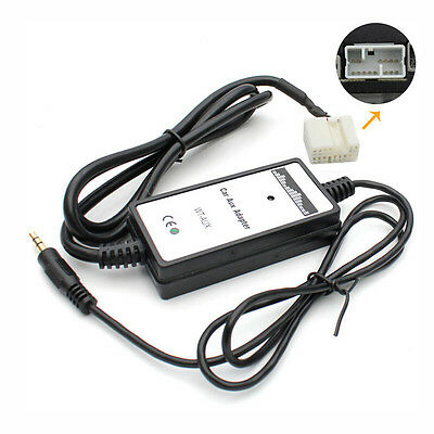 3.5mm USB Adapter Input Interface AUX In CD MP3 Player For Honda Civic Accord