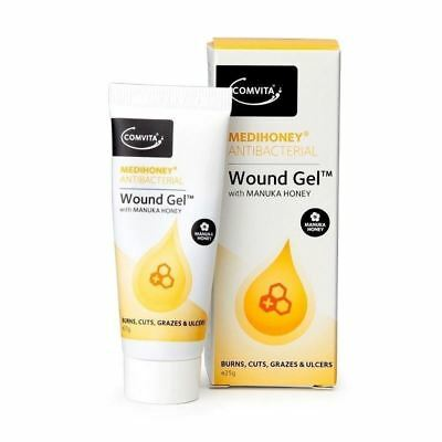 Comvita Medihoney Antibacterial | Wound Gel | Manuka Honey 25g 1 2 3 6 12 Packs