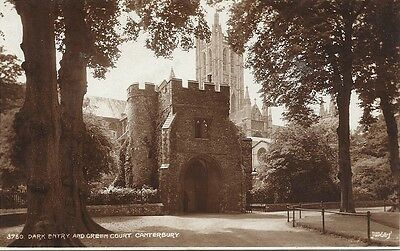 Dark Entry and Green Court, Canterbury. Judges Ltd Real Photographic Postcard
