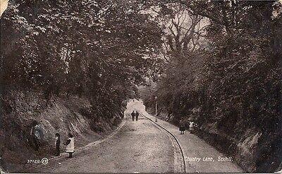 Vintage Photographic Postcard of Chantry Lane, Bexhill Dated 1915