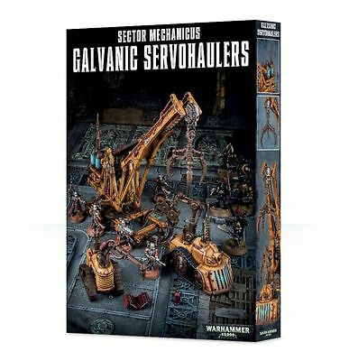 Sector Mechanicus Galvanic Servohaulers Games Workshop Gelände Terrain Tank