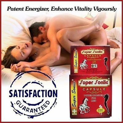 100% Ayurvedic Super Sonic Power Booster Capsules Herbal Remedies free shipping