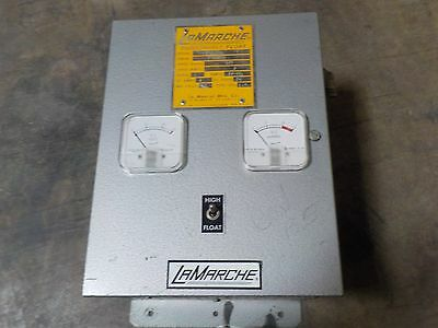 LaMarche 120V 1Phase Battery Charger