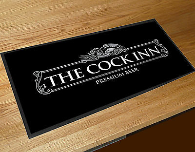The Cock Inn Funny Pub name bar runner Pubs & Cocktail Bars