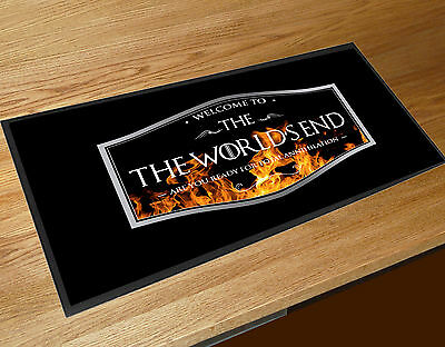 The World's End Pub beer label movie bar runner Pubs & Cocktail Bars