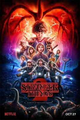 "Stranger Things Season 2 Poster Netflix TV Series Decor Poster 24""x36""/60x90cm"